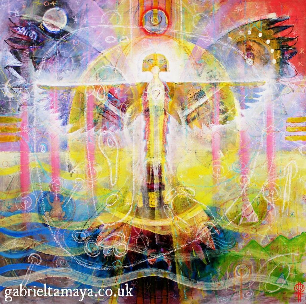Spirit of the Centre by Gabriel Tamaya