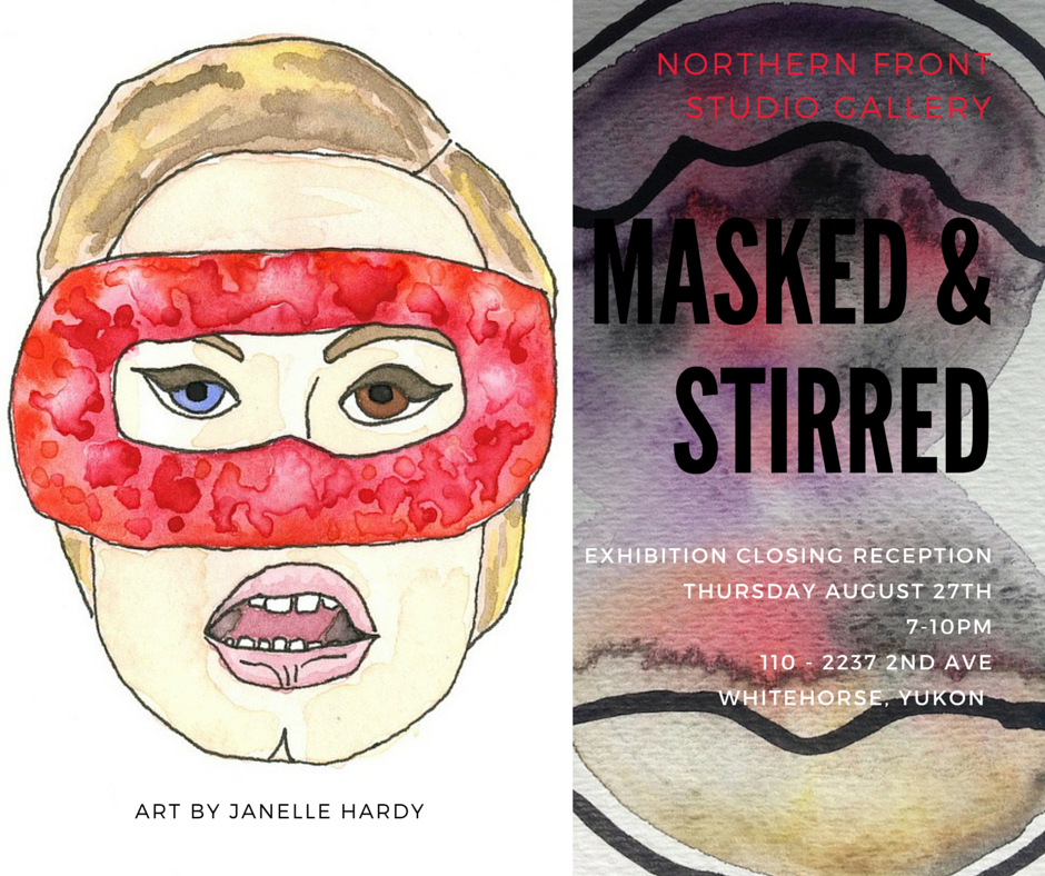 Masked and Stirred art show