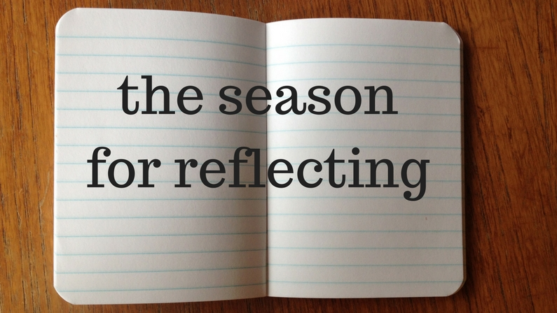 the season for reflecting