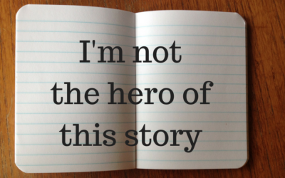 I'm not the hero of this story