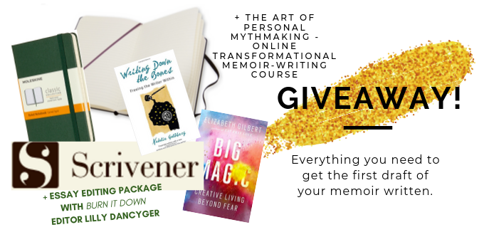 Memoir-Writing GIVEAWAY: Everything You Need To Write Your Lifestories Down